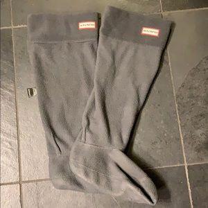 Hunter tall boots socks - like new!